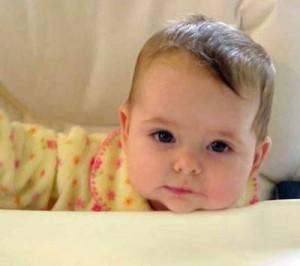 baby in blog