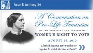 Conversation Pro-Life Feminism