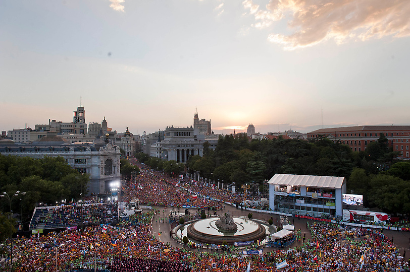 Over one million people are in Madrid this week for World Youth Day 2011.