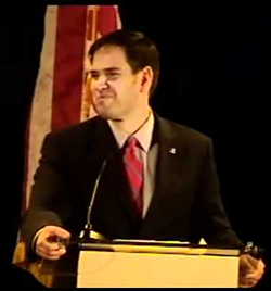 Marco Rubio at SBA List Gala