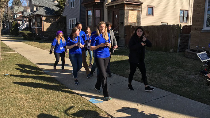 Image result for photos of democrats canvassing for voters