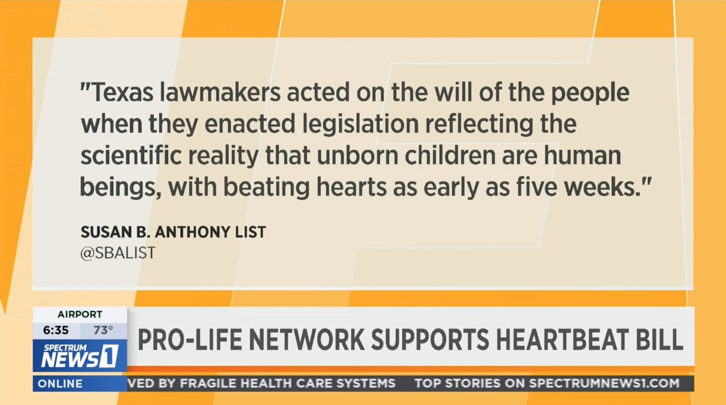 Texas' Pro-life Heartbeat Law Takes Effect